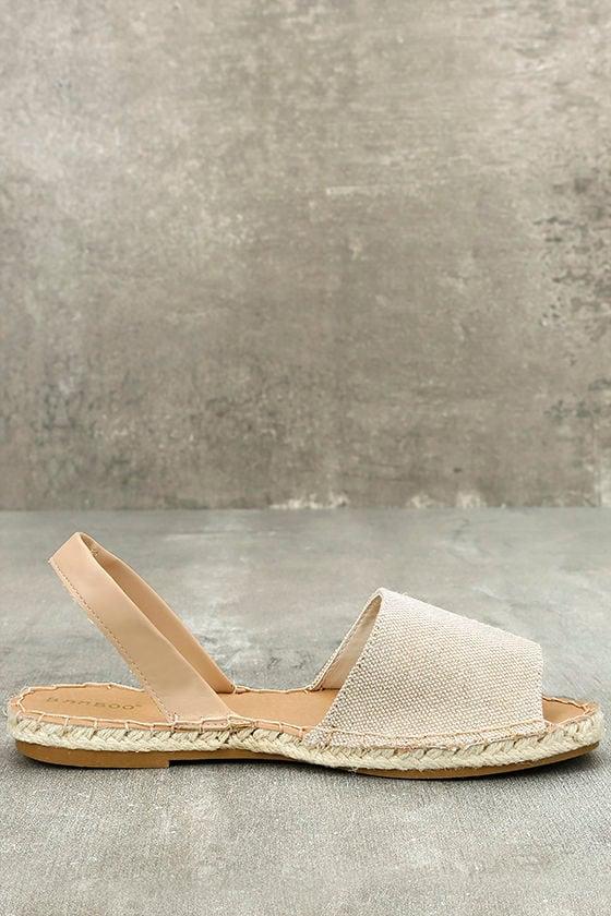 Oceanic Natural Espadrille Sandals 4