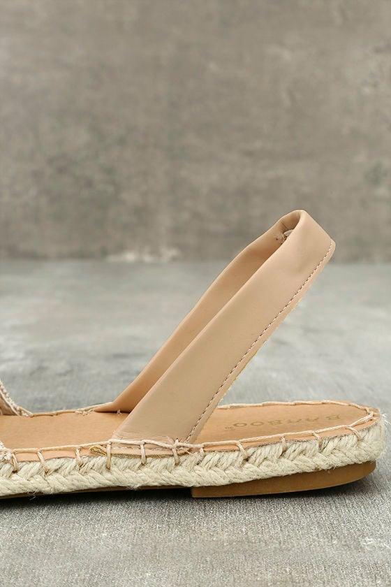 Oceanic Natural Espadrille Sandals 7