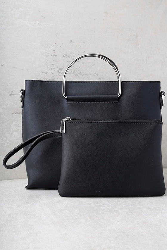Complete Package Black Handbag 3
