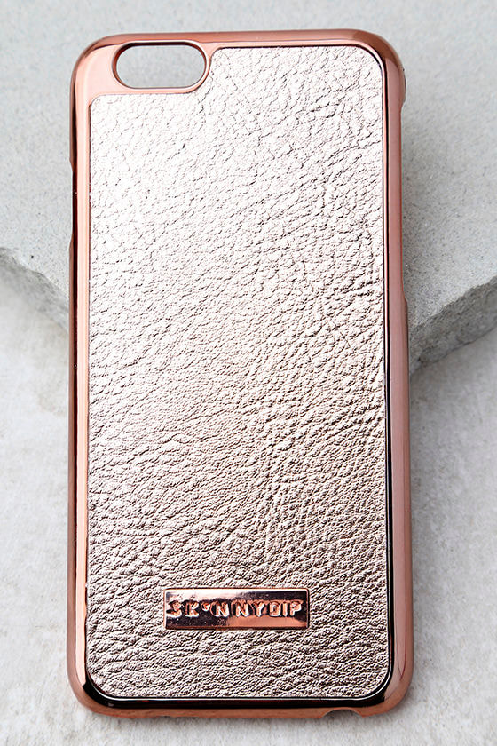 Skinnydip London Rose Gold iPhone 6 and 6s Case 1
