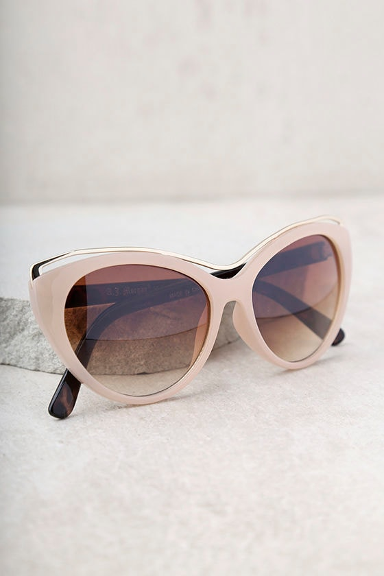 Maria Beige and Tortoise Sunglasses 2