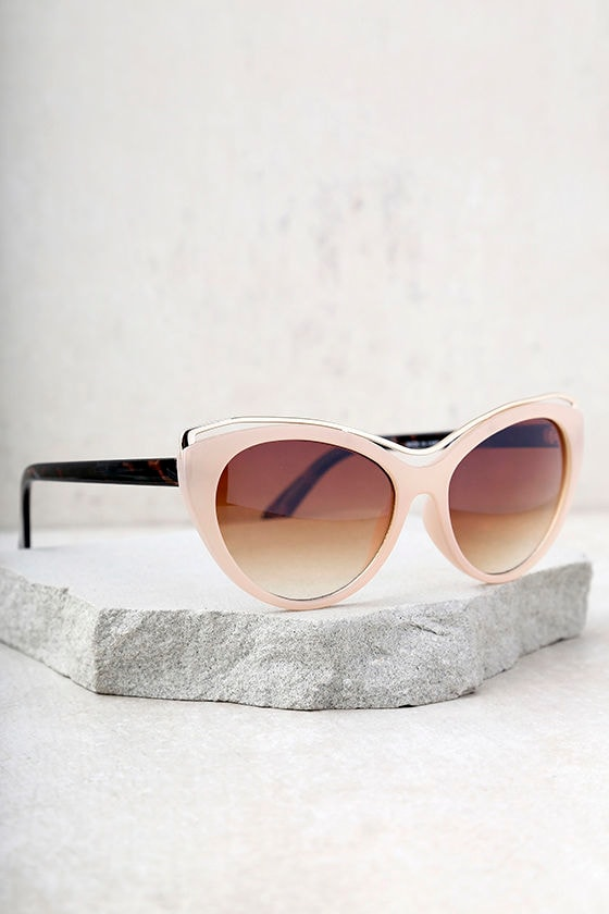 Maria Beige and Tortoise Sunglasses 3