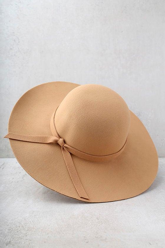 Sunny Soul Tan Floppy Hat 3