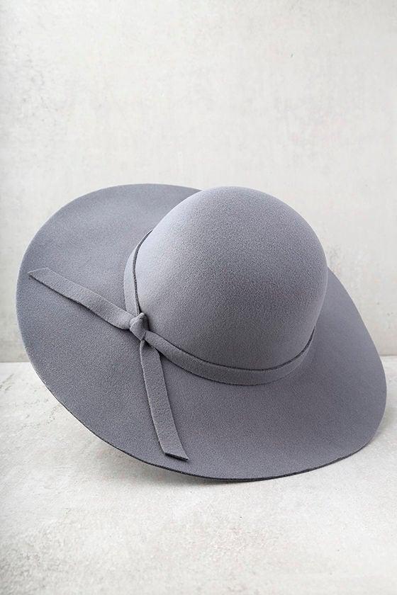 Sunny Soul Grey Floppy Hat 3