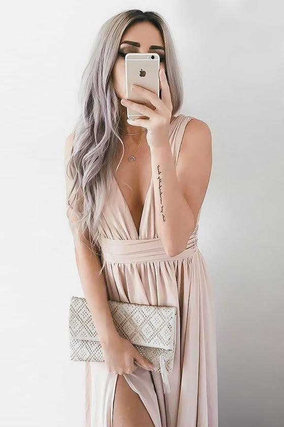 Heavenly Hues Blush Maxi Dress 8