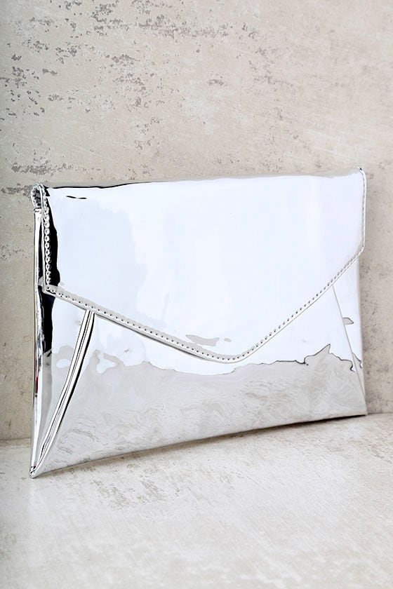 New Image Silver Clutch 1