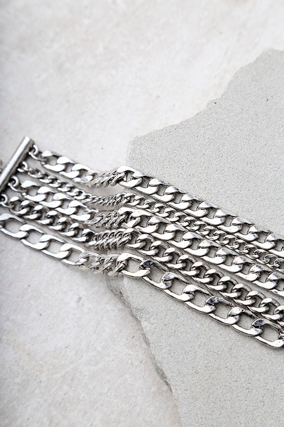 Dream Sequence Silver Chain Bracelet 2