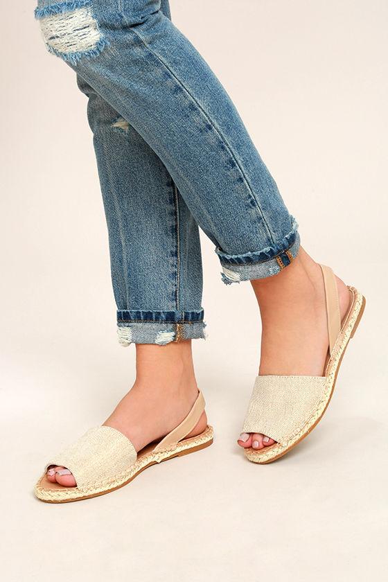 Oceanic Natural Espadrille Sandals 2