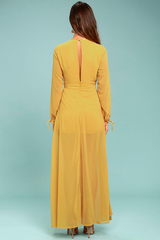 Gone with the Whirlwind Mustard Yellow Romper 3