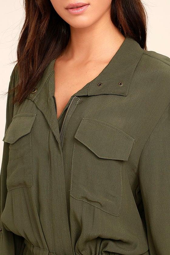 Do Work Olive Green Jacket 5