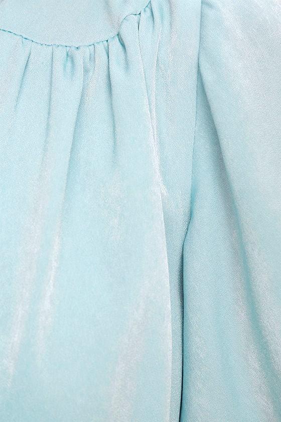 City of Stars Light Blue Maxi Dress 6