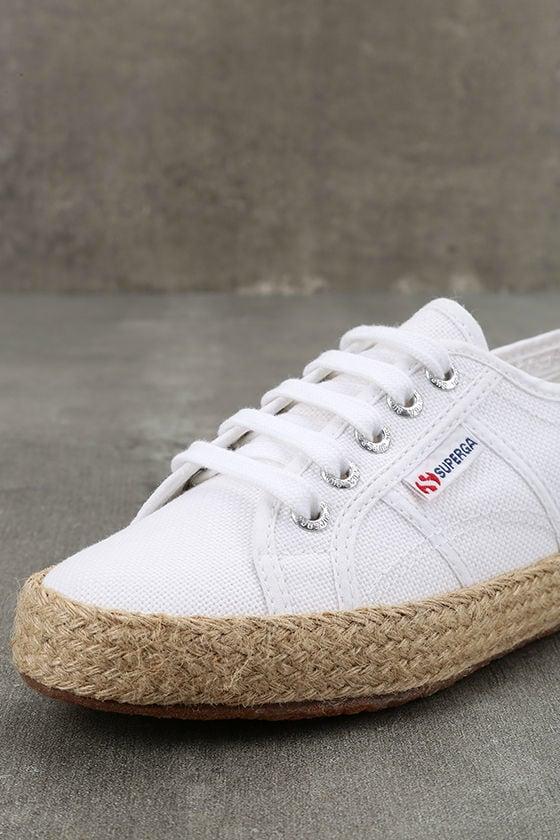 Superga 2750 COTROPEU White Espadrille Sneakers 6