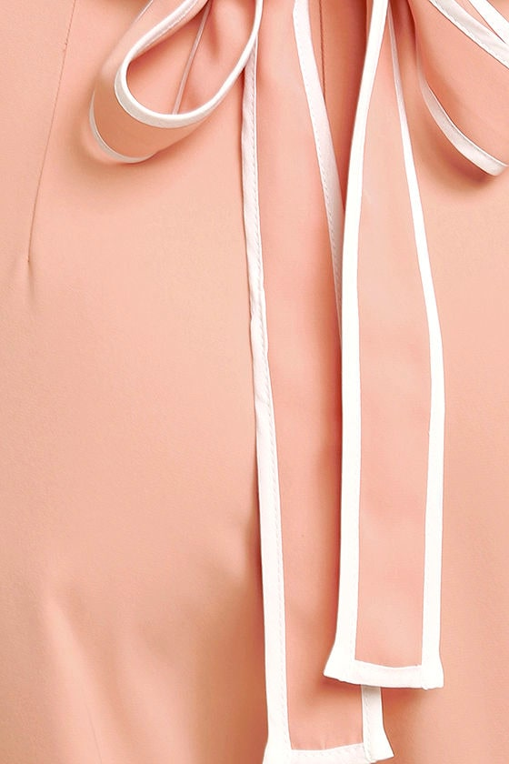 Welcoming Committee Blush Pink Wide-Leg Pants 6