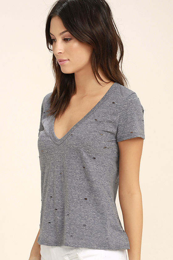 Unfiltered Grey Tee 3