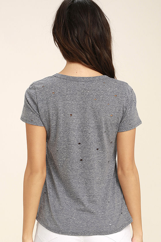 Unfiltered Grey Tee 4