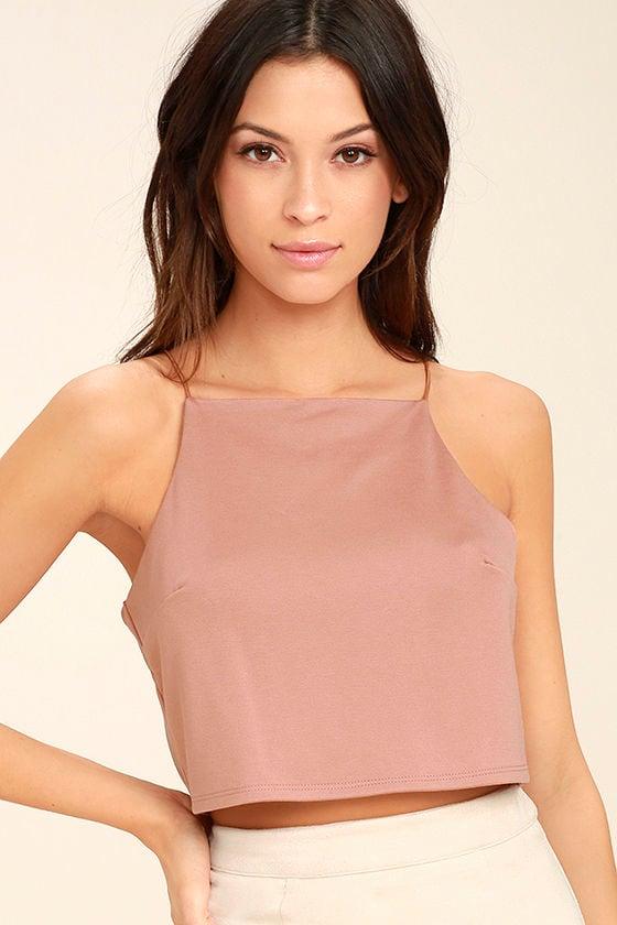 Share My Lair Blush Crop Top 3