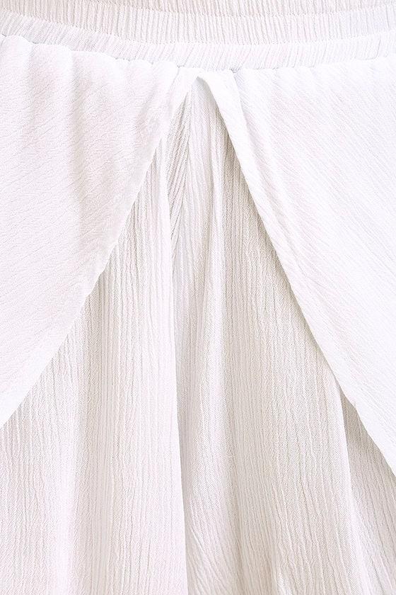 Lucy Love Love Story White Skort 6