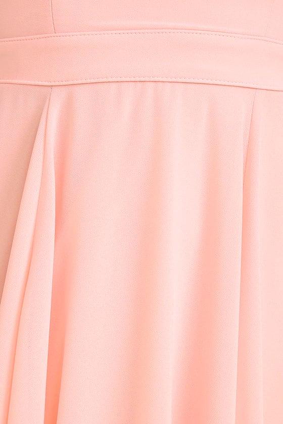 Forevermore Light Pink Skater Dress 6