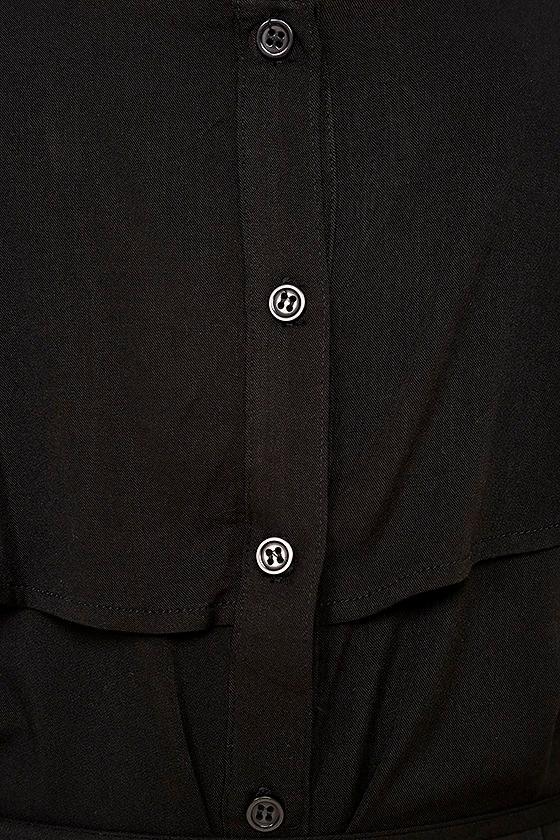 Life's Wonders Black Off-the-Shoulder Maxi Dress 6