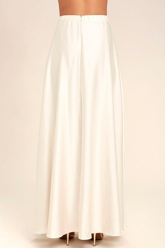 lovely skirt satin skirt maxi skirt 62 00