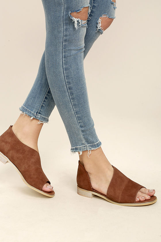 Find brown peep toe shoes at ShopStyle. Shop the latest collection of brown peep toe shoes from the most popular stores - all in one place.
