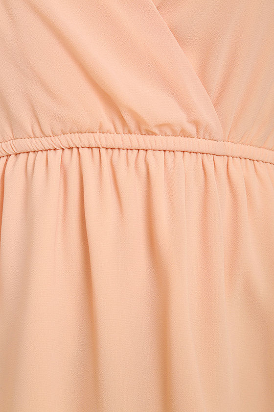 Mutual Attraction Peach Long Sleeve Top 6