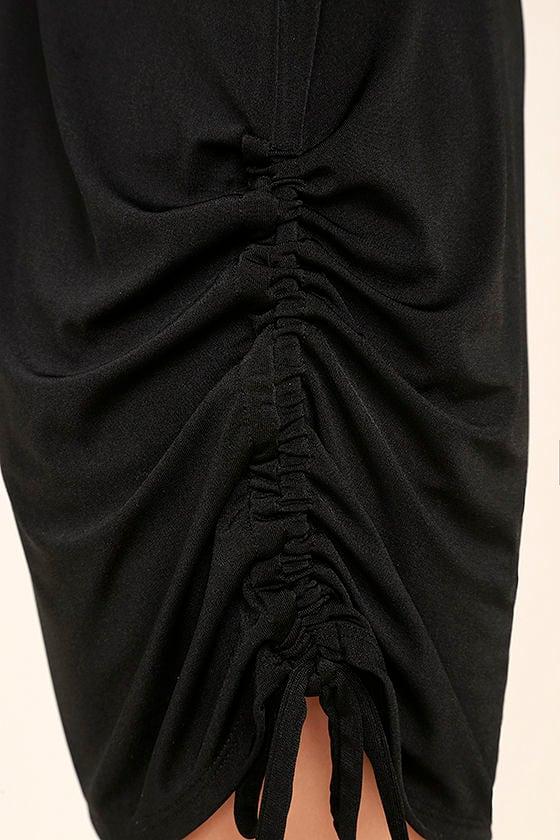Hey Girl Black Shift Dress 6