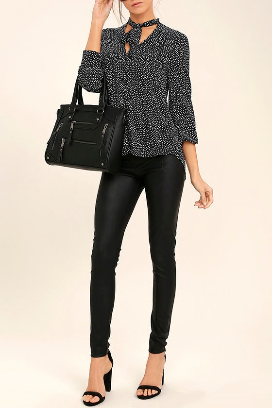 Across-the-Board Black Handbag 1