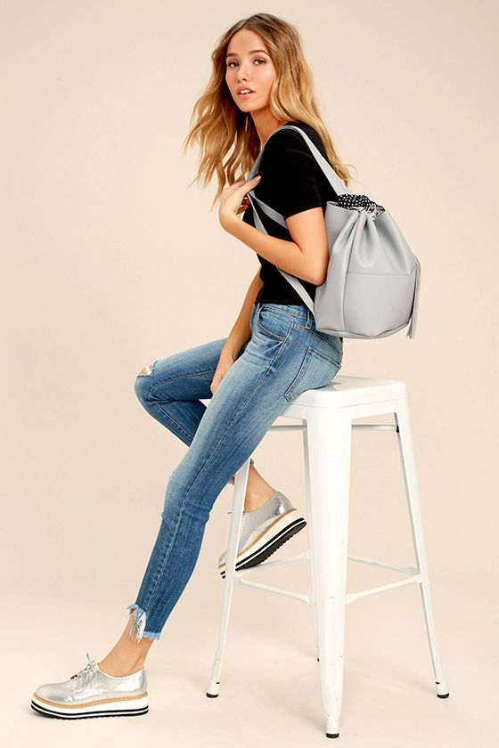 Ahead of the Pack Grey Backpack 1