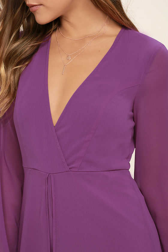 Gone with the Whirlwind Magenta Romper 5