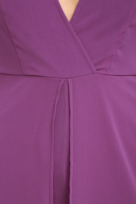 Gone with the Whirlwind Magenta Romper 6
