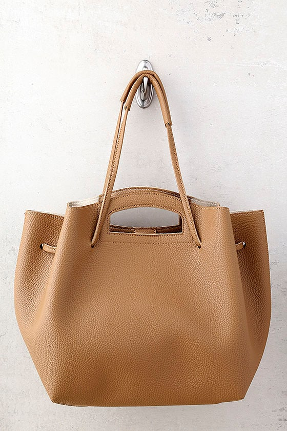Too Haute to Handle Tan Tote 1