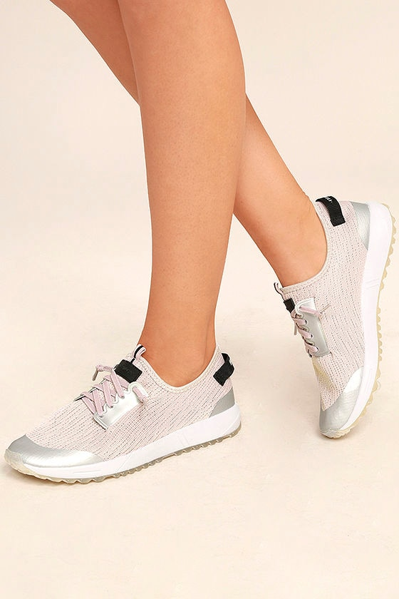 Coolway Tahali BSC Silver Knit Sneakers 1