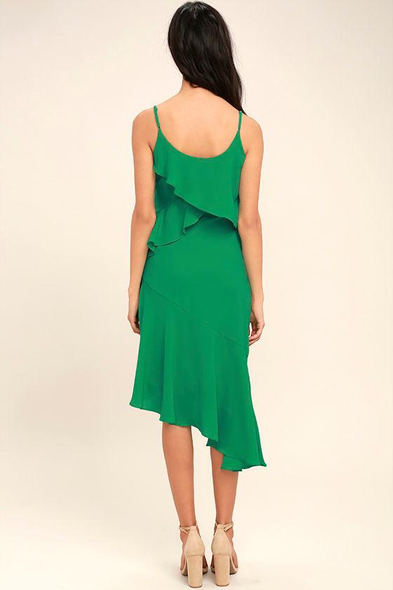 Adelyn Rae Desdemona Green Midi Dress 4