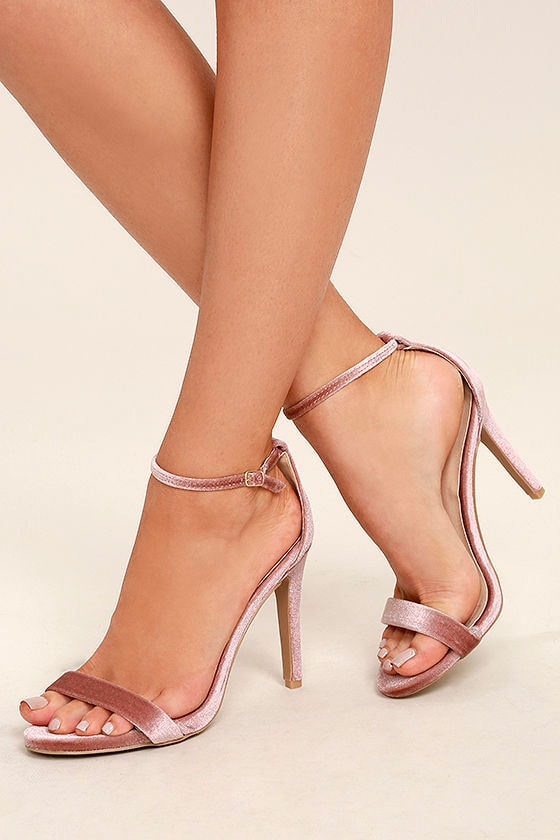 Lulus Search the Stars Ankle Strap Heels - Lulus NwDTpHww