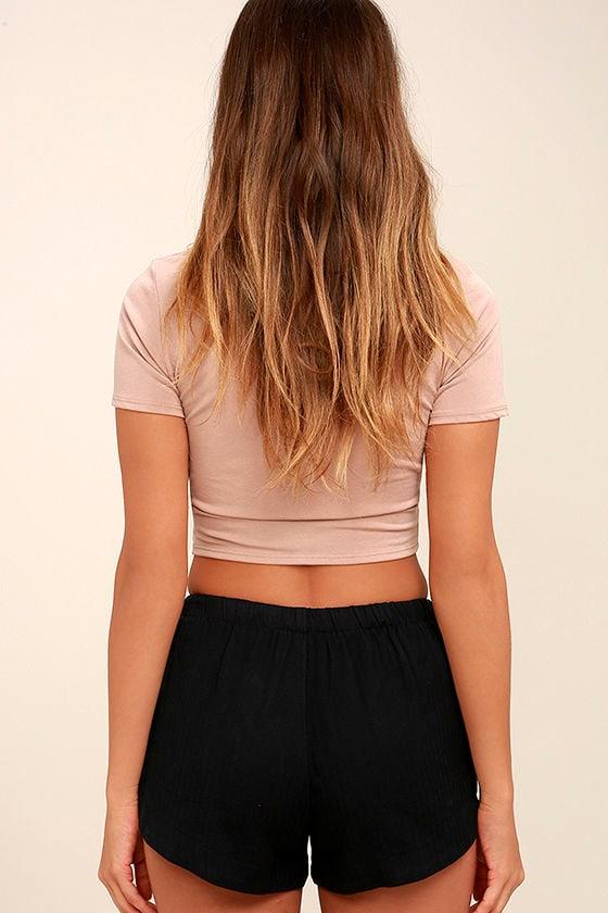 RVCA Yume Black Shorts 4