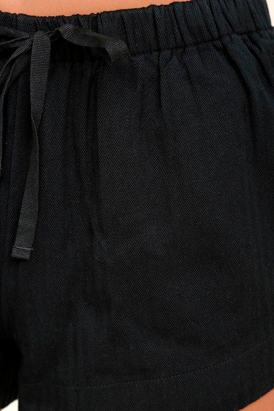 RVCA Yume Black Shorts 6