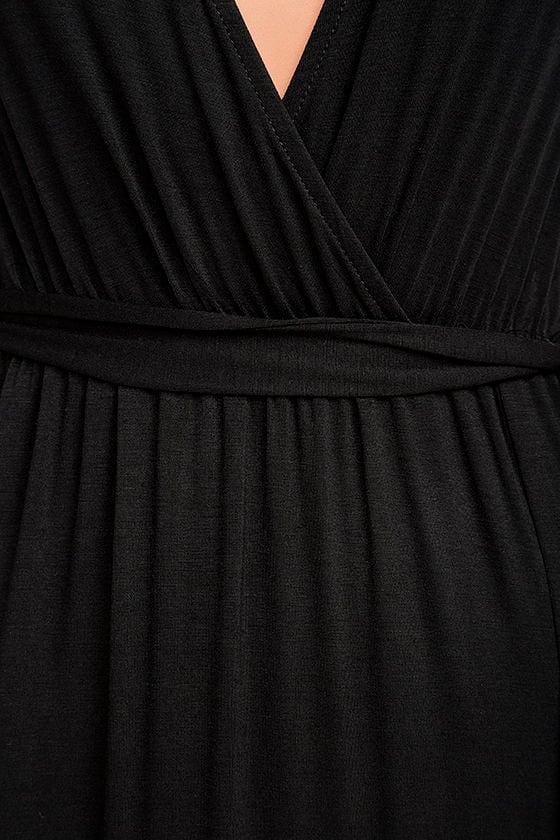 Take a Cruise Black Maxi Dress 6