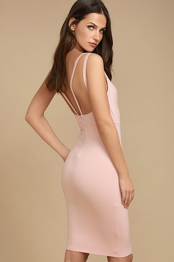 Gracefully Yours Blush Pink Dress 3
