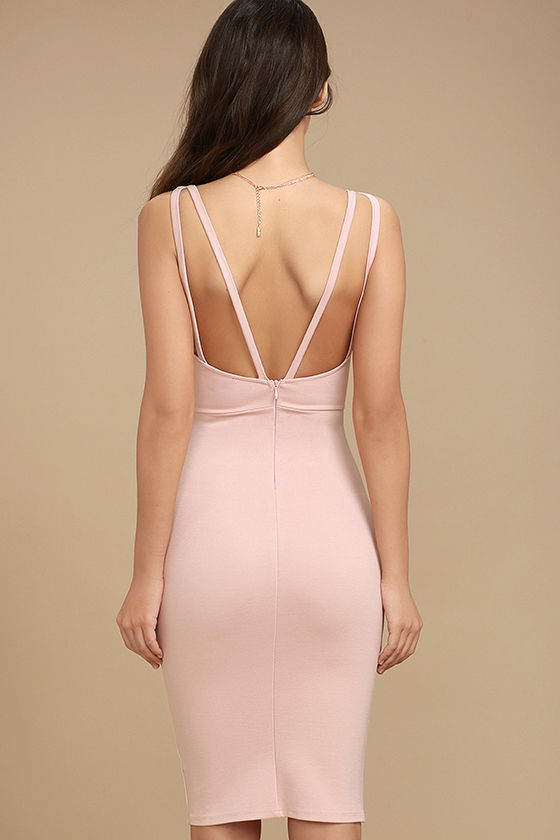 Gracefully Yours Blush Pink Dress 4
