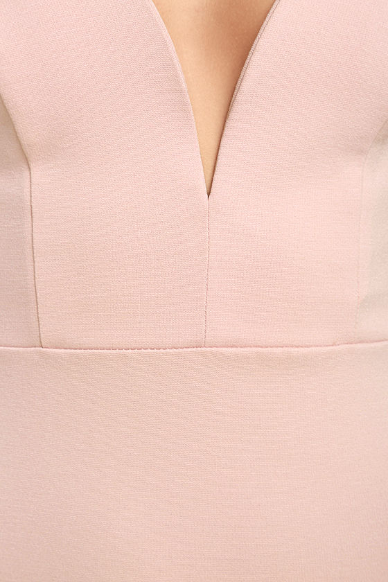 Gracefully Yours Blush Pink Dress 6
