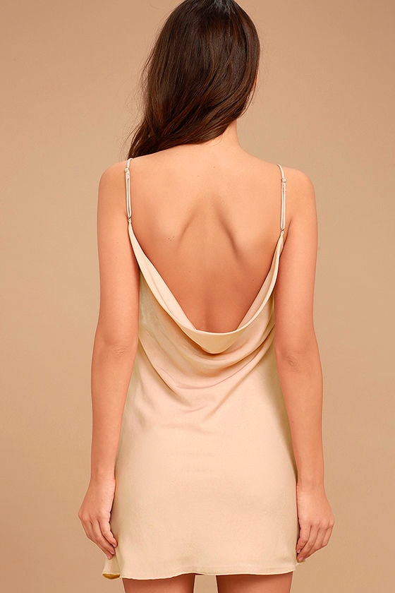 Make a Move Blush Pink Slip Dress 4