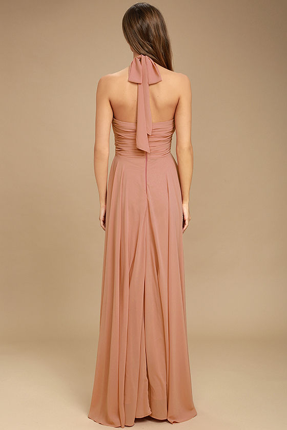 Dance of the Elements Rusty Rose Maxi Dress 4