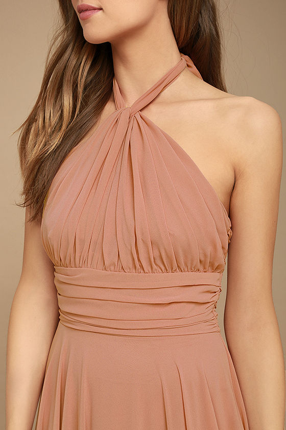 Dance of the Elements Rusty Rose Maxi Dress 5