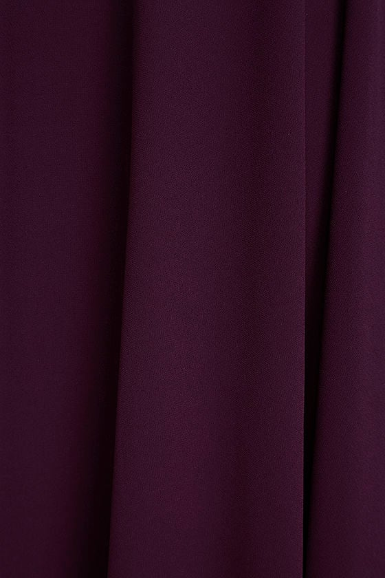 Strappy to be Here Purple Maxi Dress 6