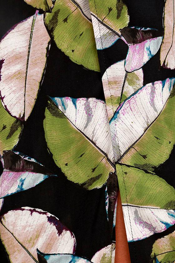 San Tropez Black Print Jumpsuit 6