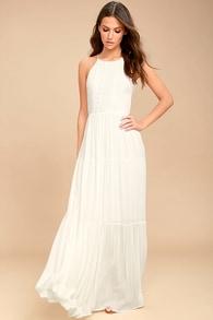 f243147fe79 Chic White Jumpsuit - Strapless Jumpsuit - Bridal Jumpsuit