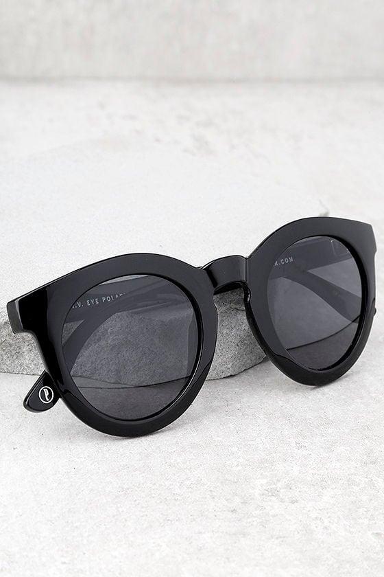 Crap Eyewear The T.V. Eye Black Sunglasses 1