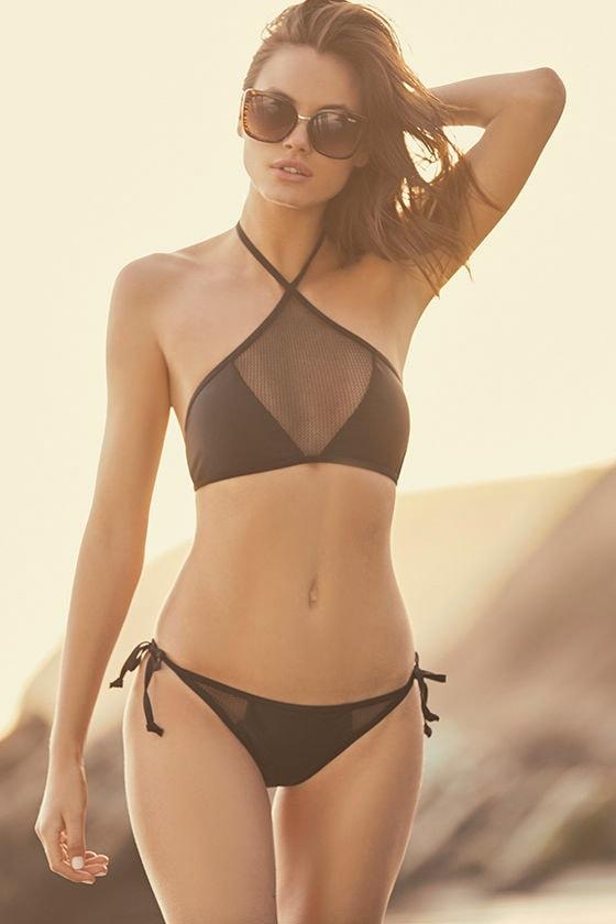 Bikini black with