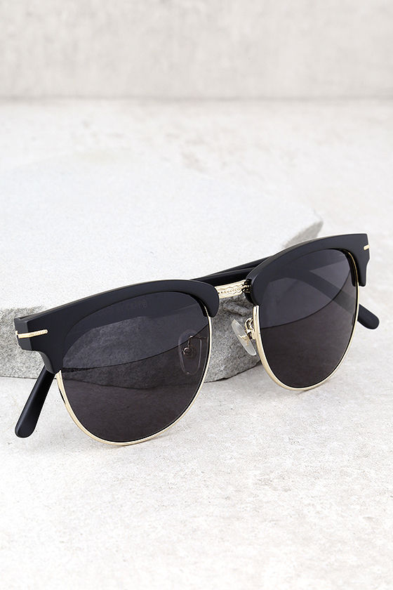 Crap Eyewear The Nudie Club Black Sunglasses 1